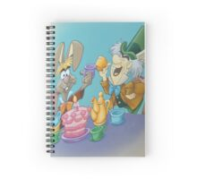 cup of mad tea Spiral Notebook