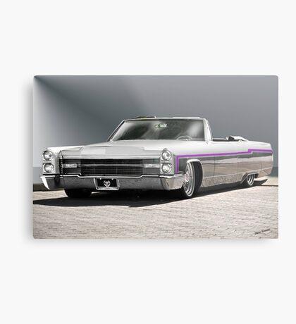 1966 Cadillac Custom Eldorado Convertible  Metal Print