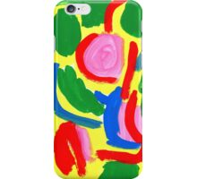 WHAT COLOR OF FLOWERS DID YOU LIKE WHEN YOU WERE KIDS? iPhone Case/Skin