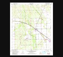 USGS TOPO Map Arizona AZ Maricopa 312235 1952 24000 Unisex T-Shirt