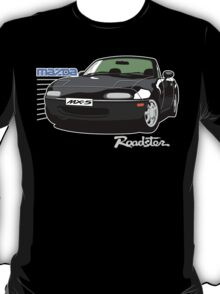 Mazda MX-5 black T-Shirt