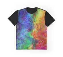 Psychedelic Line 1 Graphic T-Shirt
