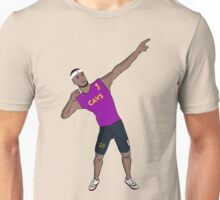 Lebron like Usain bolt Unisex T-Shirt