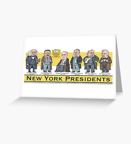 U.S. Presidents from New York State Greeting Card