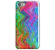 Psychedelic Line 3 iPhone Case/Skin
