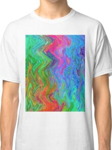 Psychedelic Line 3 Classic T-Shirt