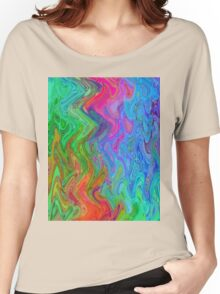 Psychedelic Line 3 Women's Relaxed Fit T-Shirt