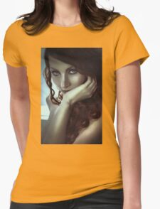 Makeup and Hairstyle Womens Fitted T-Shirt