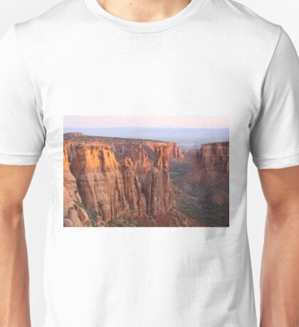 Canyons and Monoliths Unisex T-Shirt