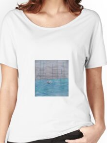Boat on the storm Women's Relaxed Fit T-Shirt
