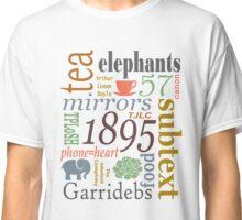 TJLC words Classic T-Shirt
