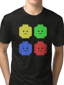 Lego Heads Tri-blend T-Shirt