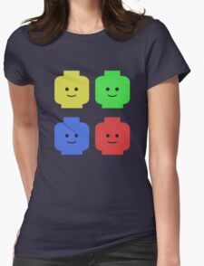 Lego Heads Womens Fitted T-Shirt