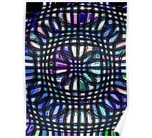 pastel cubes Poster