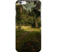 Cottage In The Churchyard iPhone Case/Skin