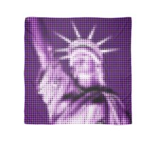 "Pixels Print ""PURPLE LIBERTY"" Scarf"