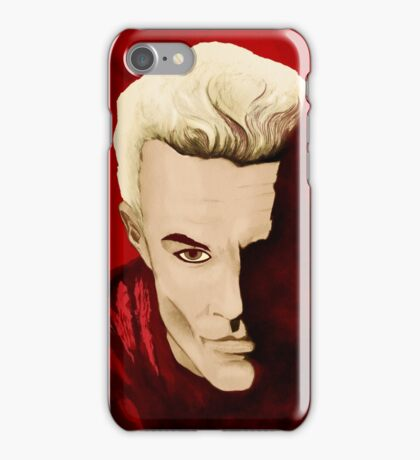 SPIKE from Buffy The Vampire Slayer iPhone Case/Skin