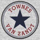 Townes Van Zandt Lone Star State by kevinshieldsleg