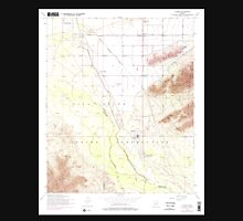 USGS TOPO Map Arizona AZ Laveen 312073 1952 24000 Unisex T-Shirt