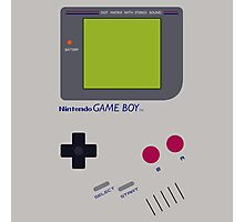 Nintendo Gameboy Photographic Print