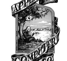 Old Apple logo by Traut