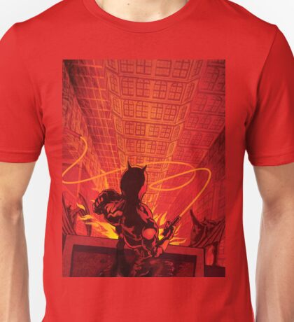 The Devil of Hell's Kitchen - Daredevil Art  Unisex T-Shirt