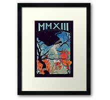 MMXIII Framed Print