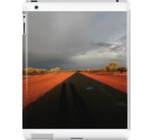 Outback road after the storm iPad Case/Skin