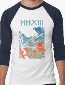 MMXIII Men's Baseball ¾ T-Shirt