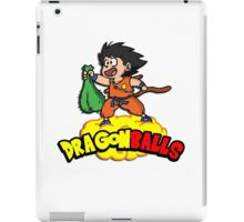 Dragon Balls - Dragon Ball Z DBZ parody pun iPad Case/Skin