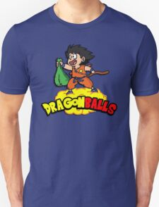 Dragon Balls - Dragon Ball Z DBZ parody pun T-Shirt