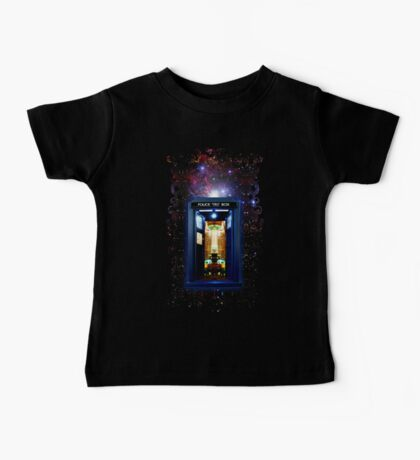 Space And Time traveller Box that More Bigger on the inside Baby Tee