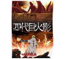 Attack on Konoha Poster
