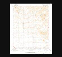 USGS TOPO Map Arizona AZ Hieroglyphic Mts SW 311746 1965 24000 Unisex T-Shirt