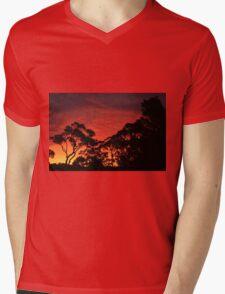 Stanwell Tops Sunset Mens V-Neck T-Shirt