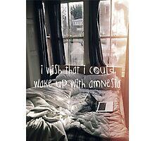 Amnesia Photographic Print