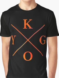 KYGO - Orange Graphic T-Shirt