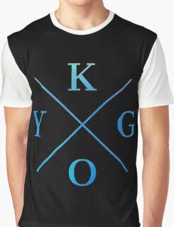 KYGO - Blue Graphic T-Shirt
