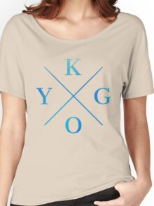 KYGO - Blue Women's Relaxed Fit T-Shirt
