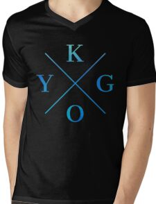 KYGO - Blue Mens V-Neck T-Shirt