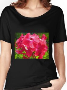 Vivid Pink Phlox Women's Relaxed Fit T-Shirt