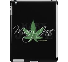Mary Jane Marijuana Leaf Stoners Shirts And Gifts iPad Case/Skin