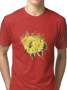 Summer - Bloomed 006 Tri-blend T-Shirt
