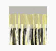Yellow Rising - Abstract Stripes in Yellow, Grey, Black & White T-Shirt