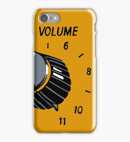 Goes Up To 11 iPhone Case/Skin