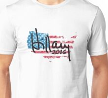 Hillary 2016 - USA Flag Unisex T-Shirt