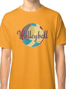 Sports Lover Cool Volleyball Shirts and Gifts Design Classic T-Shirt
