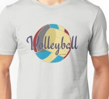 Sports Lover Cool Volleyball Shirts and Gifts Design Unisex T-Shirt