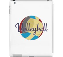 Sports Lover Cool Volleyball Shirts and Gifts Design iPad Case/Skin