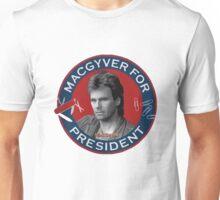 Macgyver For President Unisex T-Shirt
